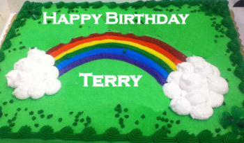 happy birthday terry cake